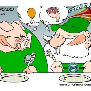 Corneta FC: E pro jantar? Coxa ou Porco?