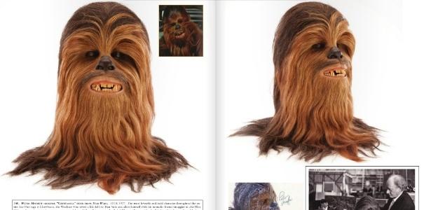 Cabeça de Chewbacca é vendida por mais de US$ 172 mil - Reprodução/Profiles in History
