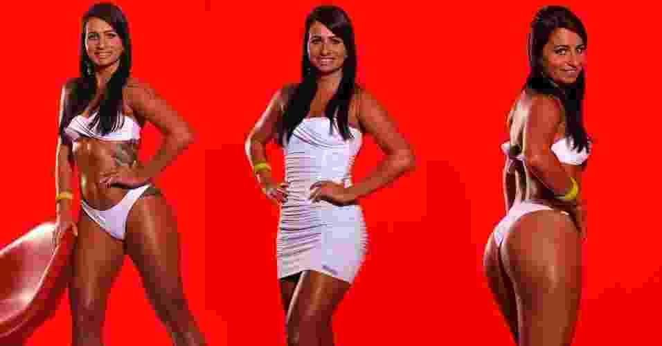 Esta é Bianca, 26 anos, promotora de eventos  - Bauer Studio/Fitness Model Agency