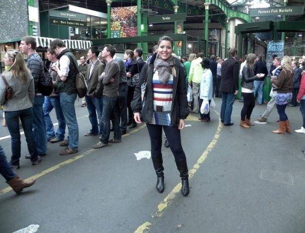 Natália Faleiros foi para Londres em 2008, onde terminou seu último ano de faculdade na London South Bank University.