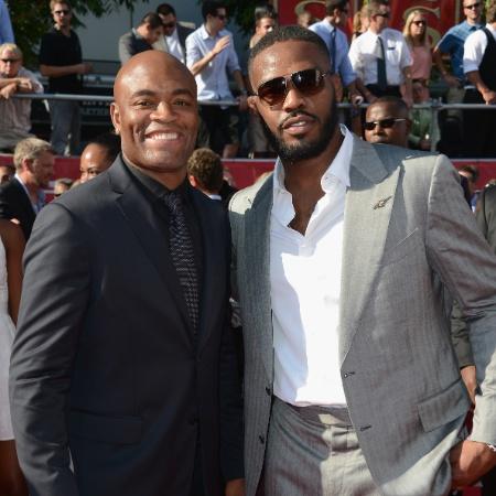 Anderson Silva e Jon Jones são como irmãos - Getty Images