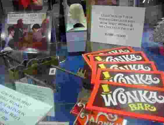 """Barra de chocolate usada durante as gravações de """"A Fantástica Fábrica de Chocolate"""" tem valor estimado em até dois mil dólares (11/7/12) - Diego Assis/UOL"""
