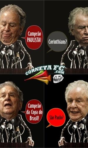 Corneta FC: A fase do Juvenal está muito boa...