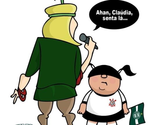 Corneta FC: Aham, Cláudia, sentá lá...