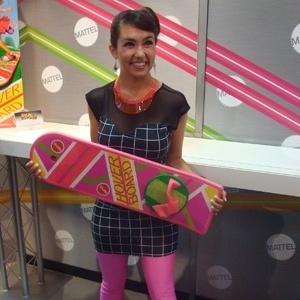 """Mattel criou skate igual ao """"De Volta para o Futuro 2"""". Só que este não voa - Diego Assis/UOL"""