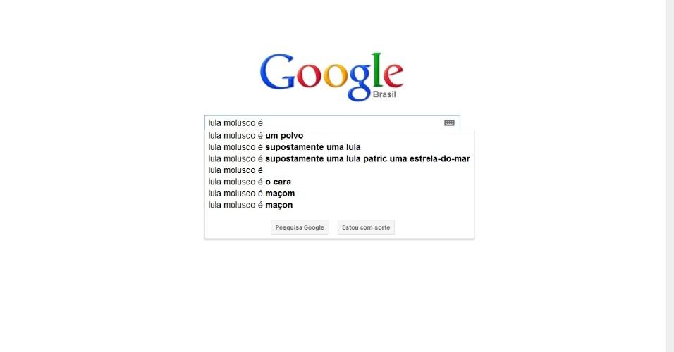 Google autocompletar