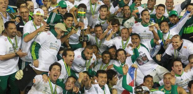 Palmeiras é o atual campeão da Copa do Brasil - venceu o Coritiba na final de 2012