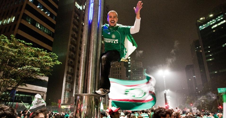 O último título do Palmeiras havia sido o Paulistão de 2008