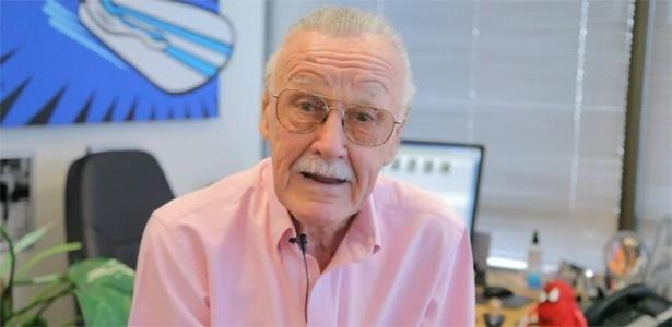 Stan Lee falando sobre o novo projeto em vídeo do YouTube - Reprodução