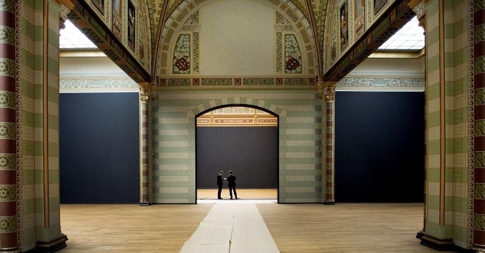 12.jul.2012 - Interior de uma das salas do Rijksmuseum de Amsterdã, na Holanda