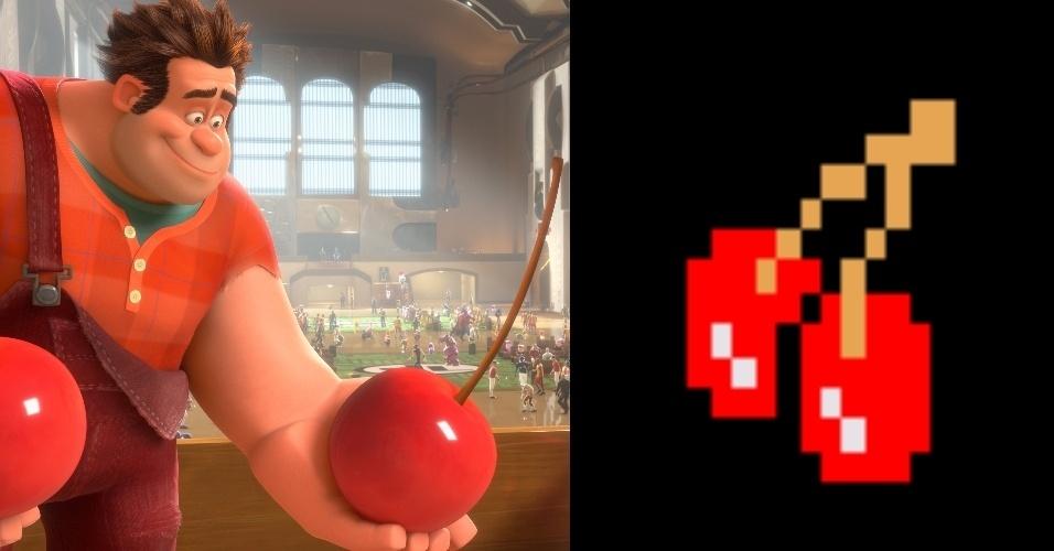 """A cereja na mão de Ralph foi colhida diretamente nos labirintos de """"Pac-Man"""""""