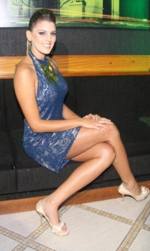 Em entrevistas recentes, Mari Paraíba já avisou que dará um tempo no vôlei para aproveitar a fama que a Playboy lhe trouxe. A musa quer ser apresentadora de programa esportivo (12/07/2012)