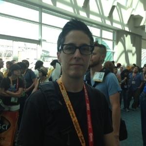 A autora de quadrinhos Alyson Bechdel após painel na San Diego Comic-Con (14/7/12) - Estefani Medeiros/UOL