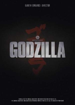 """Pôster teaser do filme """"Godzilla"""", de Gareth Edwards - Divulgação"""