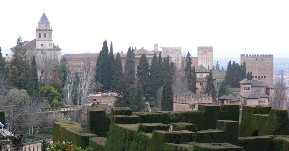 Alhambra, em Granada