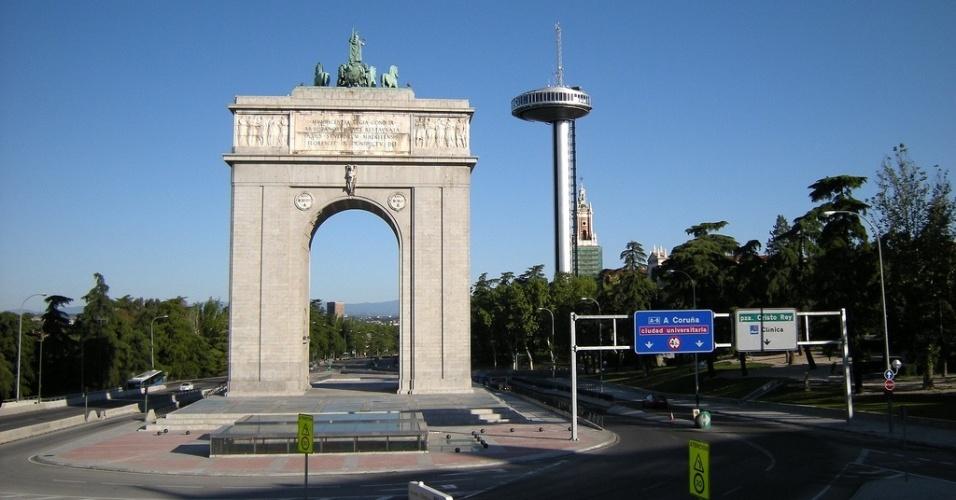 Arco de la Victoria Moncloa, em Madrid