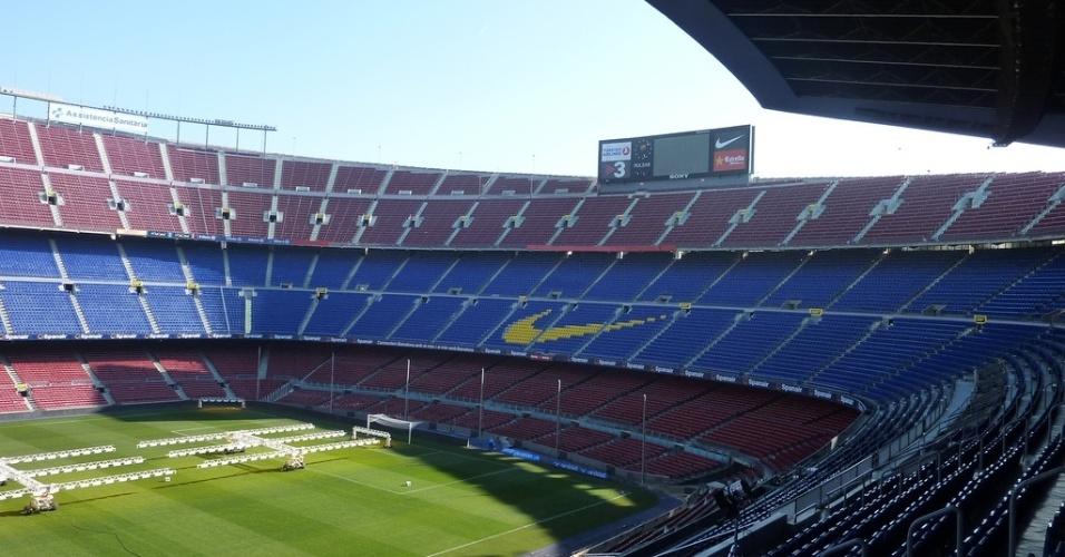 Camp Nou, estádio do time de futebol Barcelona