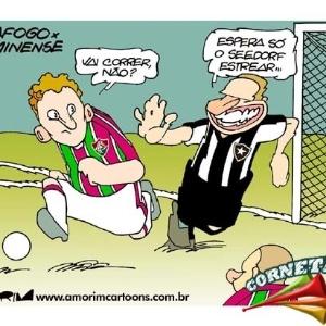 Corneta FC: Enquanto isso, em um clássico do Rio de Janeiro...