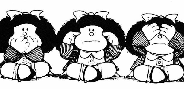 """""""Mafalda surge de um conflito, de uma contradição. A criança aprende uma porção de 'coisas que não se devem fazer' porque são 'más' e 'são prejudiciais'. Acontece que, quando abre os jornais, ela descobre que os adultos perpetram todas essas coisas proibidas através de massacres, guerras, etc. Então se produz o conflito. Por que os adultos não fazem o que ensinam?"""""""