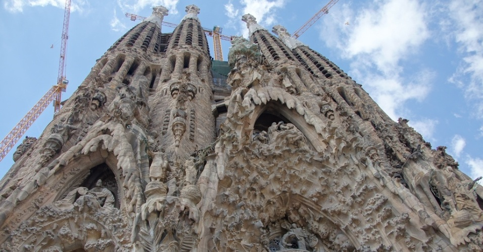 Catedral da Sagrada Família, igreja projetada por Antonio Gaudí em Barcelona