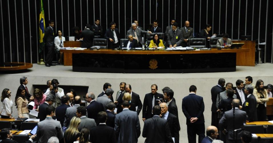 17.jul.2012 - O Congresso Nacional aprovou a LDO (Lei de Diretrizes Orçamentárias) 2013, que estabelece as metas e prioridades da administração federal para o próximo ano