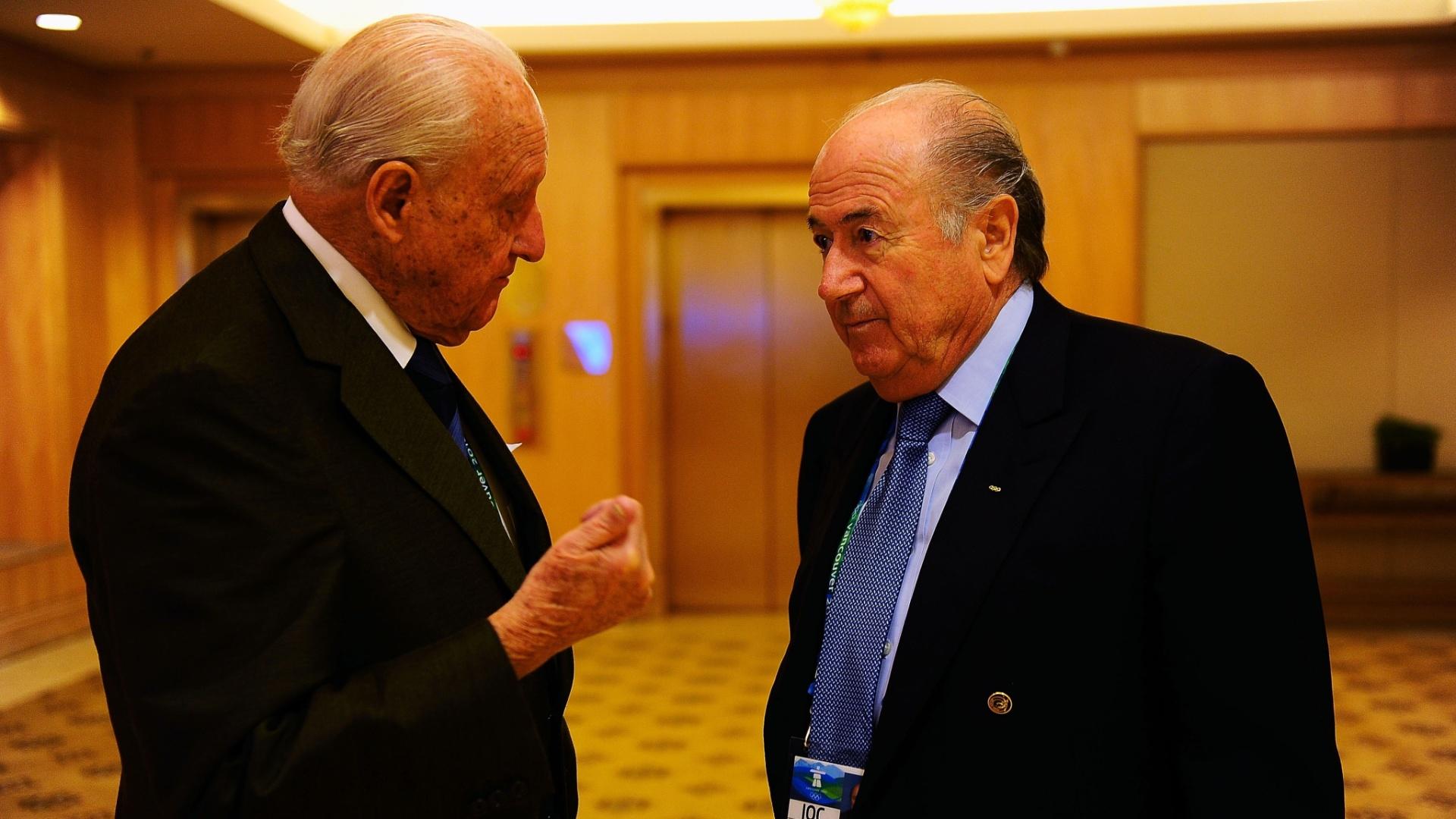 Havelange e Blatter