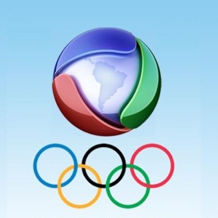 Logo da TV Record nas Olimpíadas - Divulgação