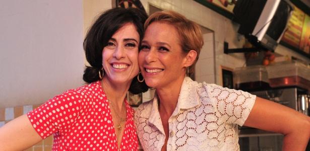 """Fátima (Fernanda Torres) e Sueli (Andréa Beltrão), de """"Tapas e Beijos"""""""
