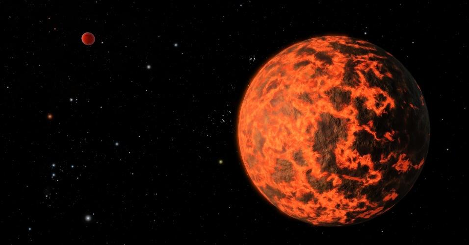 Telescópio da Nasa encontra um dos menores exoplanetas já registrados