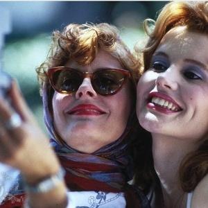 """""""Thelma e Louise"""", com Susan Sarandon e Geena Davis inspirou roteiro da Record"""