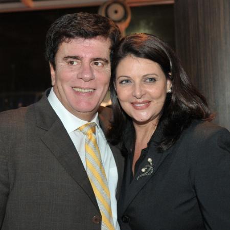 Wagner Montes e Sônia Lima eram casados desde 1987 - Divulgação/Record