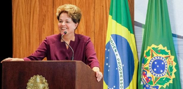 A presidente Dilma Rousseff parabenizou o desempenho da delegação brasileira na Paraolimpíada