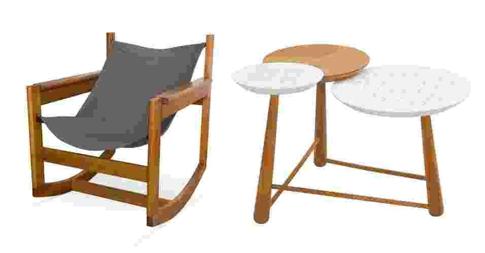 Quer redecorar a sua casa? Aproveite as liquidações de inverno e escolha móveis e objetos de decoração com descontos especiais - Montagem UOL