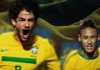 Duelo das Cartas - Seleção brasileira de futebol - Arte UOL