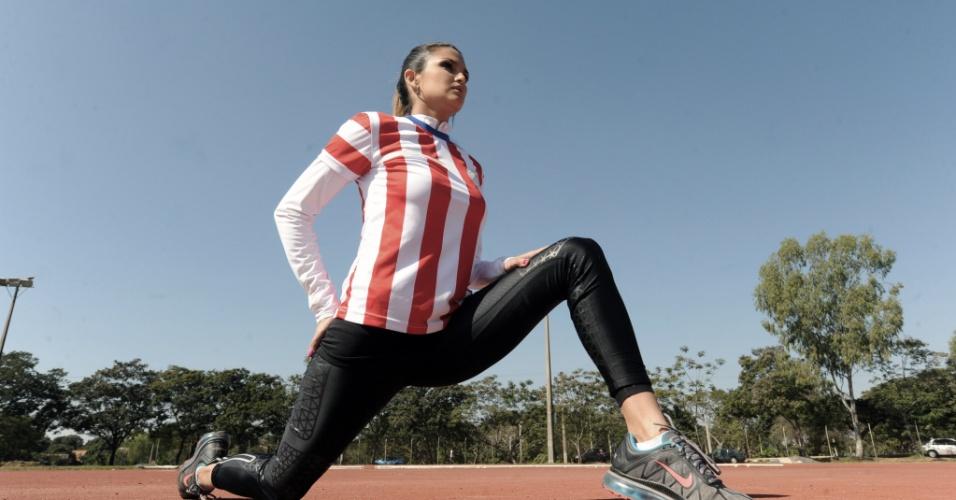 Aos 30 anos, a paraguaia Leryn Franco é conhecida como a