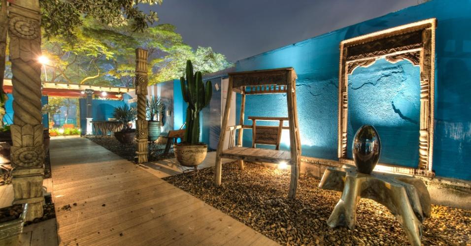 Casa Cor SP 2012: jardim interno, criado pelos arquitetos Marcos Muller e Aida Baltazar