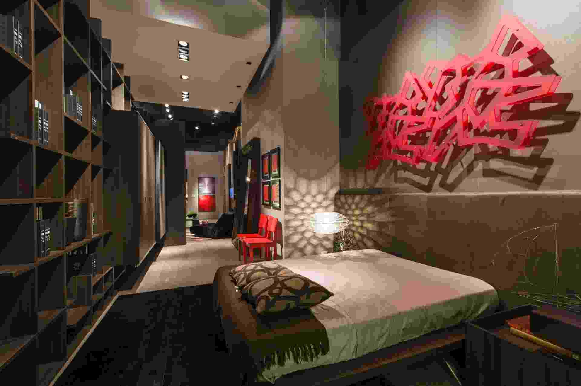 Casa Cor SP 2012: loft do executivo, assinado por Edgar Casagrande - Kátia Kuwabara/ UOL