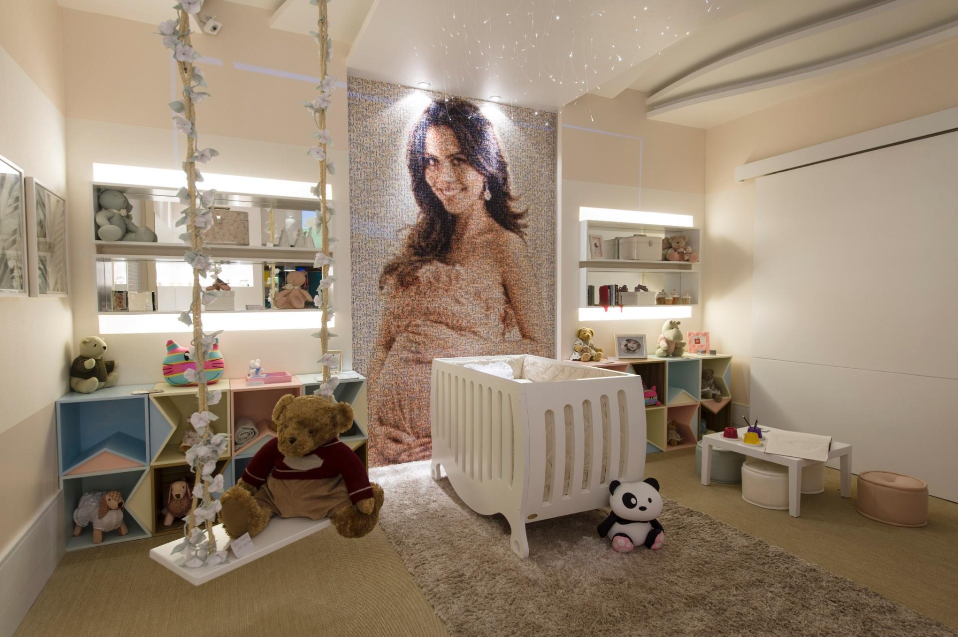 Casa Cor SP 2012: quarto do bebê em homenagem à apresentadora Daniela Albuquerque, criado pela arquiteta Mayra Lopes