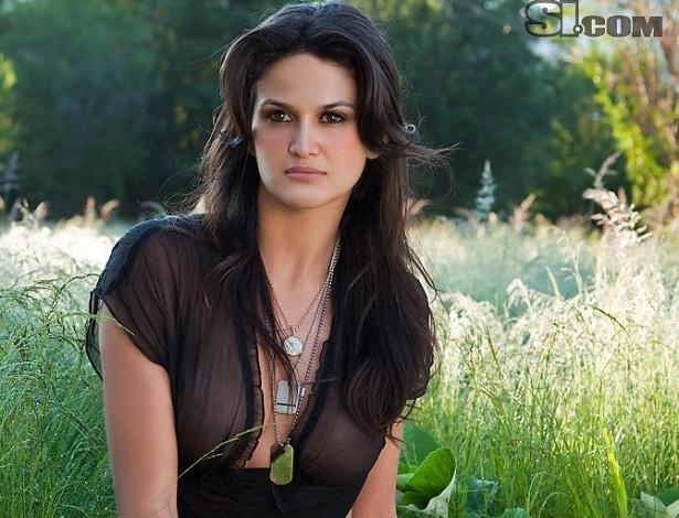 Leryn Franco, de 29 anos, é atleta, modelo e Miss Paraguai.