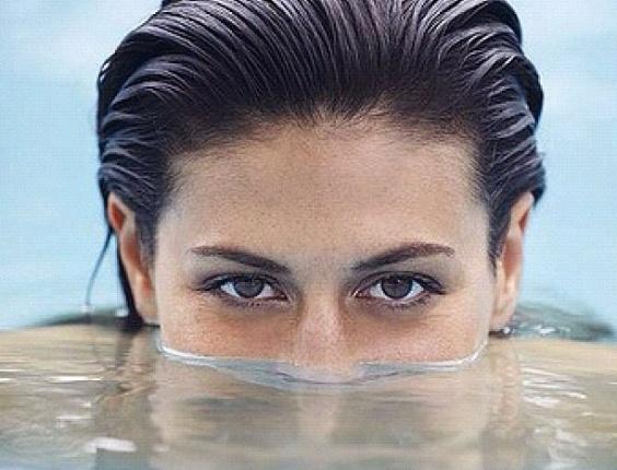 A nadadora australiana Stephanie Rice, de 24 anos, faturou três ouros nos Jogos Olímpicos de Pequim, em 2008.