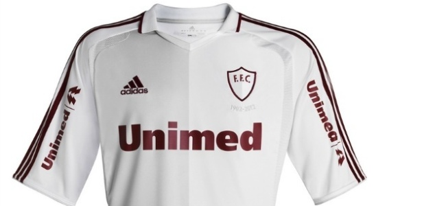 ef5f23f95e054 Fluminense lança edição limitada de camisa histórica em comemoração dos 110  anos - 21 07 2012 - UOL Esporte