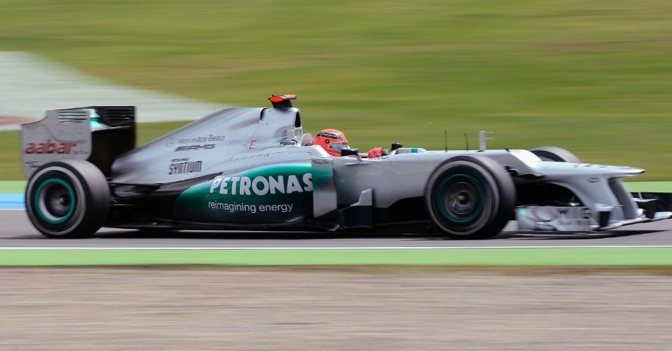 Heptacampeão mundial, Michael Schumacher é um dos ídolos da torcida alemã