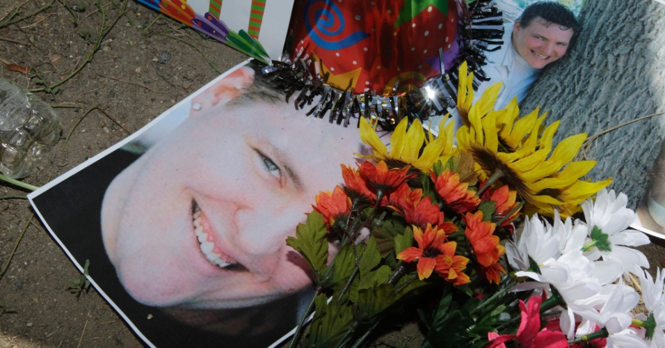Alex Sullivan comemorava seu aniversário de 27 anos no cinema quando foi morto. Ele estava prestes a completar um ano de casado