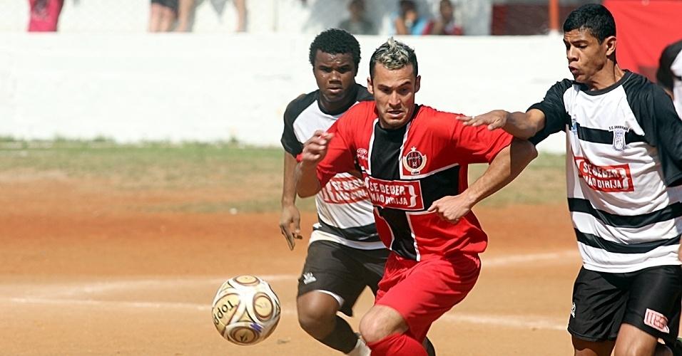 Jardim Brasil (branco) X Juventude (vermelho)