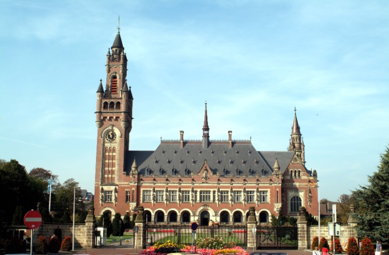 Palácio da Paz localizado na cidade de Haia, terceira maior da Holanda, atrás de Amsterdã e Roterdã