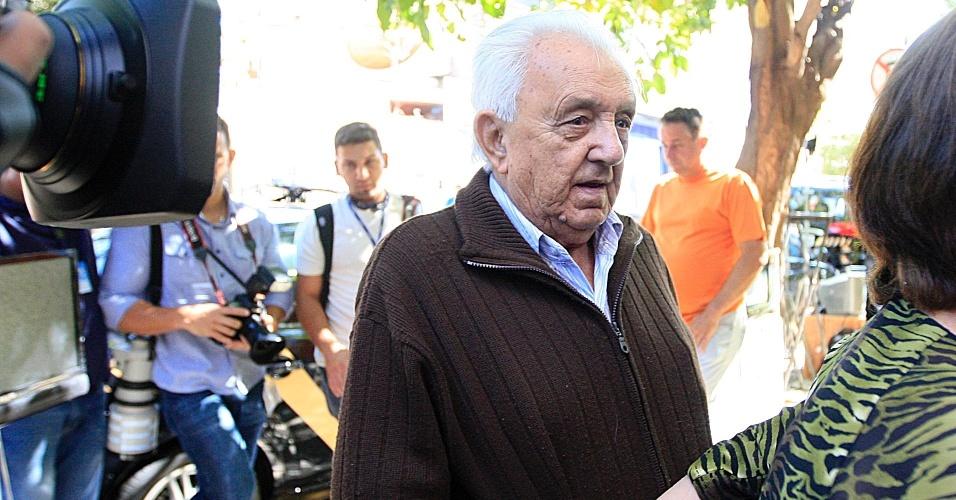 24.jul.2012 - Pai de Carlinhos Cachoeira, Sebastião Almeida Ramos, conhecido como