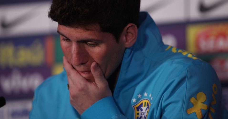 Cortado da Olimpíada, Rafael ganhou a confiança de Mano menezes durante os quatro amistosos do último mês de junho