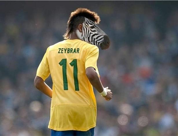 Internauta justifica penteado e aponta Neymar como zebra
