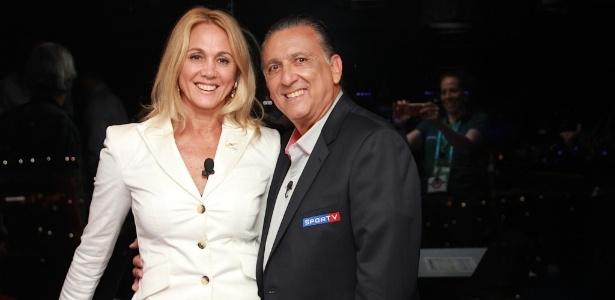 Hortência e Galvão no Conexão SporTV