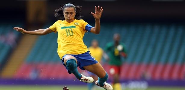 Desempenho de Marta nos Jogos de Londres foi abaixo de esperado e seleção acabou eliminada